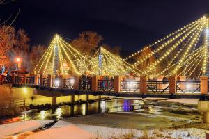 Christmas Bridge Lights