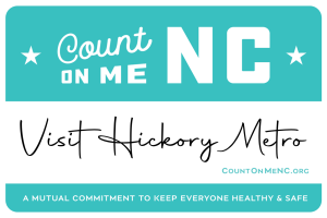 Count on Me NC badge