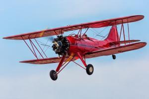 Waco UPF-7 Biplane