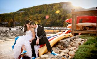 Wedding on a the beach
