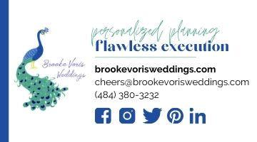 brooke voris wedding digital ad