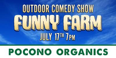 2021 Summer Co/Op ~ Billboards ~ Comedy Show at Pocono Organics