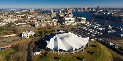 Portsmouth-Virginia-Downtown-Aerial-View