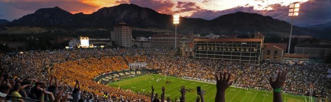 CU Folsom Field Football Game
