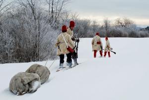 60 leagues on snowshoes