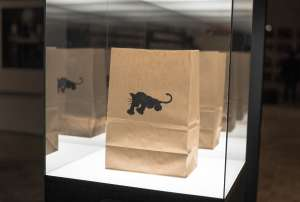 Black Panther Party Exhibit at OMCA lunch bag