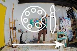 Oakland Arts Icon Graphic
