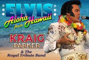 aloha elvis - kraig parker PAC show