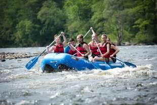 Pocono Mountains Whitewater Rafting River Adventures