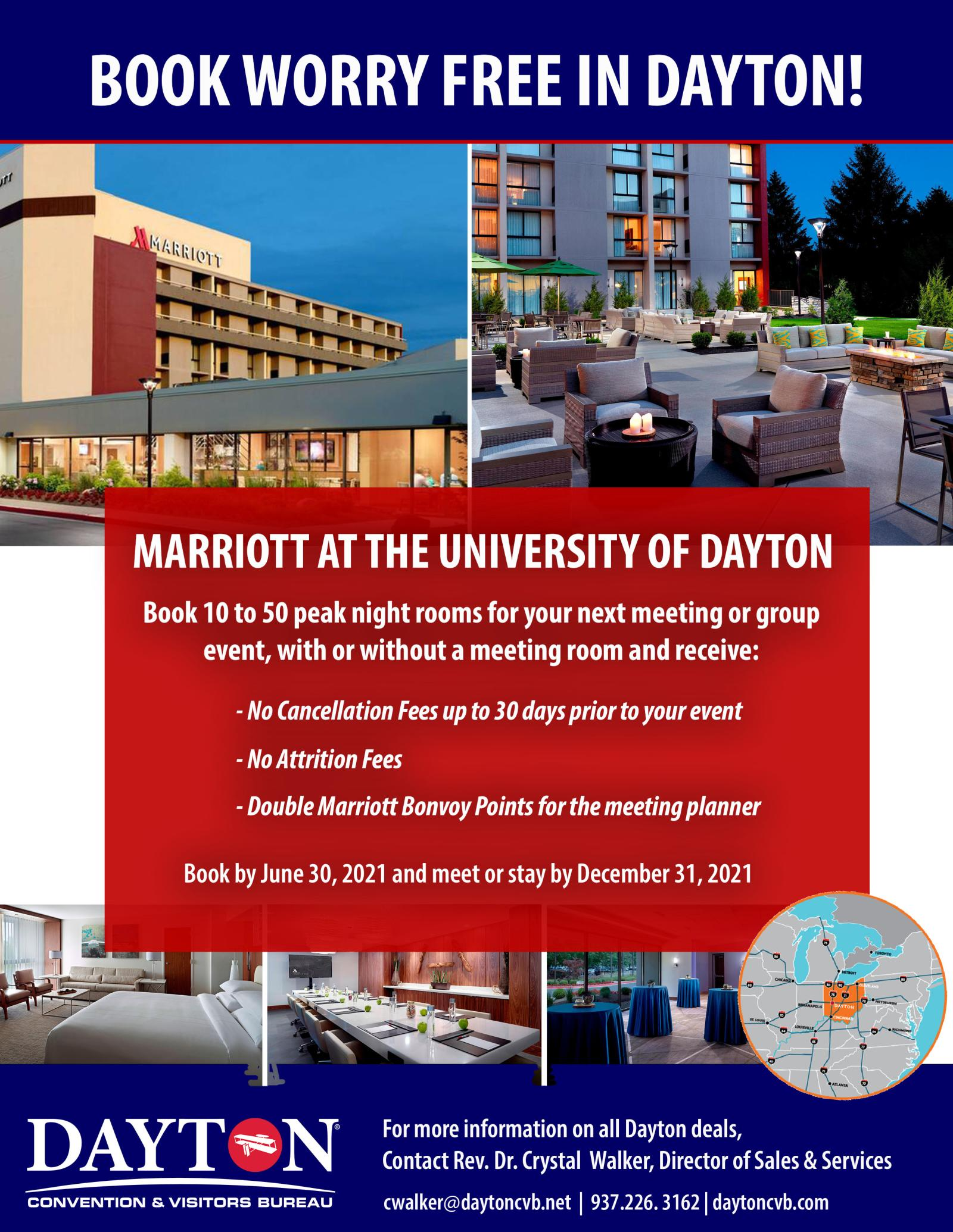 Book Worry Free Marriott at UD '21