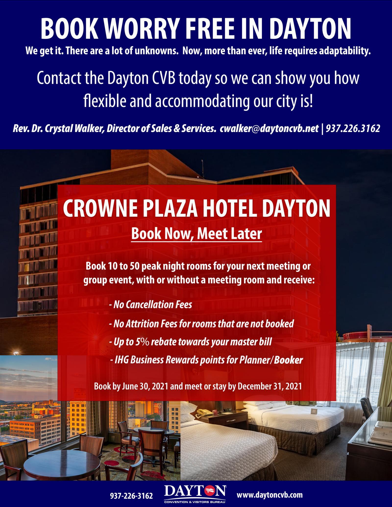 Book Worry Free Crowne Plaza '21