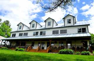 Inn by the River Exterior