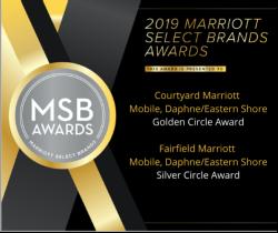Courtyard and Fairfield Award
