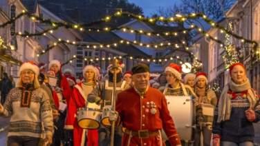 Christmas parade in Risør