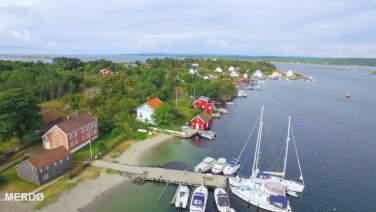 Badeplasser i Arendal kommune - Merdø