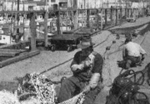historic photo of fishermen