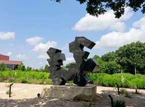 Kaephae-Aekyad #2 Sculpture by Douglas Abdell at Wichita Art Museum's Art Garden