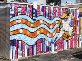 The Meadowlark Mural