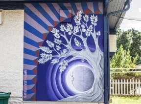 Moon Apples Mural