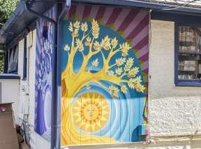 Sun Apples Mural
