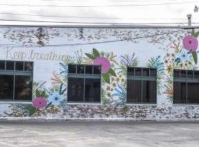 Keep Breathing Mural