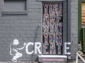 You Are What You Create Mural