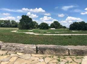 Turtle Maze at Sedgwick County Art Walk In Wichita, KS