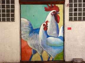 Les Grandes Bresses Alley Door by Ande Hall