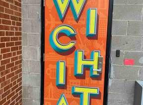 Wichita Walkabout Alley Door by Lindsey Kernodle