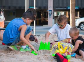 Pop-Up Beach Kids