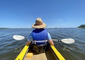 Kayaking in Daytona Beach