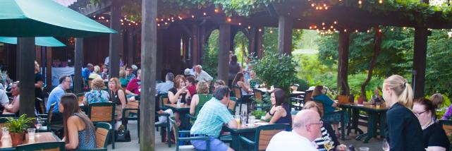 Oliver Winery Patio