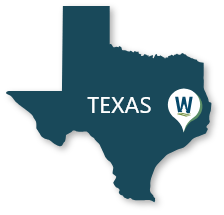 Texas Map Small
