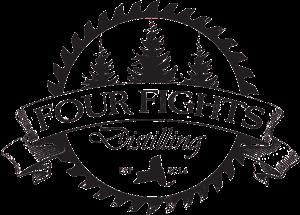 Four Fights Distilling Logo