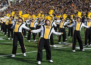 iowa marching band