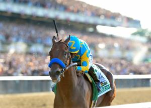 American Pharoah 2015 Belmont Stakes NYRA photo Adam Mooshian