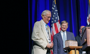 Charles Duke Presented with Texan of the Year Award