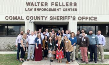 Leadership New Braunfels at Comal County Sheriffs Office