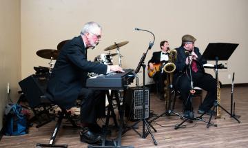 Band plays during 2020 Rising Stars Gala