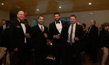 From Left, John Coker, Matt Smith, Matt Gandrud, Peter James