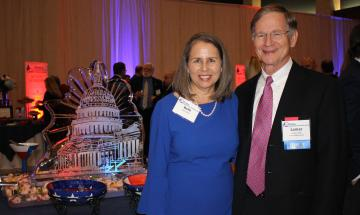 Lamar Smith and his wife, Beth