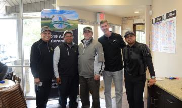 Pictured: Michael Meek and Reagan Burrus Team
