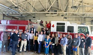 Leadership New Braunfels at Fire Station
