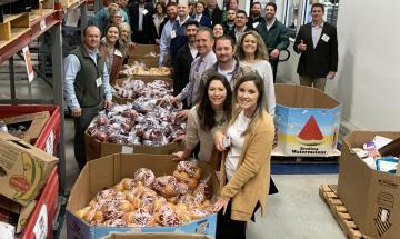 Leadership New Braunfels at Food Bank