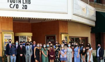ylnb class of 2020 at graduation