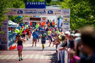 Run America's Toughest Road Marathon!