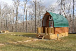Cabins & Camping at Explore Park