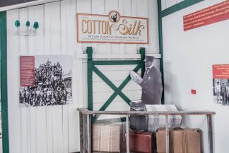 From Cotton to Silk Exhibit