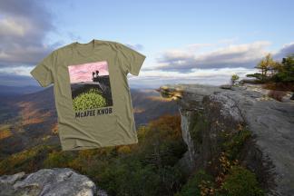 Purchase a McAfee Knob Shirt