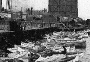 historic photo of fishing boats